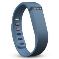 Fitbit Flex 时尚智能乐活手环 无线运动睡眠蓝牙腕带蓝灰色