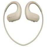 索尼(SONY)可穿戴式运动防水耳机mp3播放器 WS413 (白色) 4G
