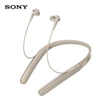 索尼(SONY)WI-1000X Hi-Res颈挂式 入耳式 无线蓝牙耳机 降噪耳机 手机通话 香槟金