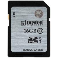 金士顿(Kingston)16GB 80MB/s SD Class10 UHS-I高速存储卡