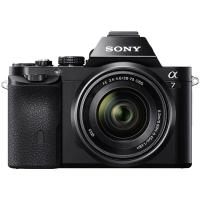 索尼(SONY)ILCE-7K 全画幅微单相机标准套机(约2430万有效像素 28-70mm镜头 1080P录像a7K/α7K)