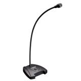 得胜(TAKSTAR)MS-550 电脑话筒桌面鹅颈会议麦克风 有线电容话筒 游戏语音聊天麦克风  黑色