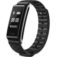 榮耀暢玩手環A2 全屏觸控 持續心率 睡眠運動監測 多點觸摸大屏 微信內容顯示來電提醒 適配ios&安卓 魔法黑