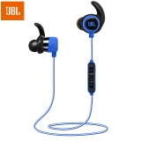 JBL Reflect Mini BT 专业运动无线蓝牙耳机 带耳麦线控可通话 BT升级版 入耳式手机耳机 蓝色