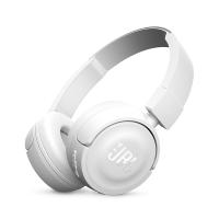 JBL T450BT 无线蓝牙 头戴式耳机 手机耳机 音乐耳机 游戏耳机 珍珠白