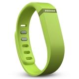Fitbit Flex 时尚智能乐活手环 无线运动睡眠蓝牙腕带青柠色