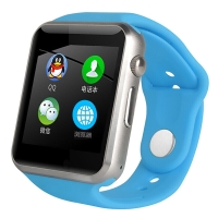 智力快车 MX2 触屏儿童电话手表手机男可插卡 儿童智能手表手机手表穿戴 蓝色