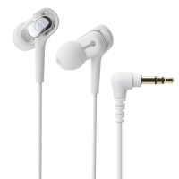 铁三角(Audio-technica)ATH-CKB50 平衡动铁时尚入耳式耳机 白色