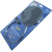 得胜(TAKSTAR)PS-1专业防喷罩 双层麦克风话筒防喷网 电容麦防风罩防风罩防噪网 黑色