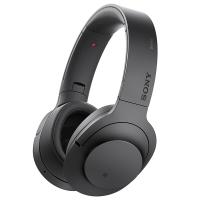 索尼(SONY)h.ear on Wireless NC MDR-100ABN 无线降噪立体声耳机(黑色)