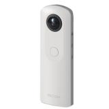 理光(Ricoh)theta sc 360度全景摄像数码相机 白色 VR概念产品