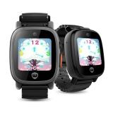 卫小宝 儿童电话手表 双摄学生手表  GPS五重定位 智能触控手表手机 K7 黑色