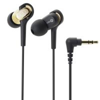 铁三角(Audio-technica)ATH-CKB50 平衡动铁时尚入耳式耳机 金色