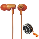 铁三角(Audio-technica)ATH-CLR100 OR 入耳式耳机 橙色