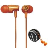 铁三角(Audio-technica)ATH-CLR100 OR 入耳式耳机 橙色