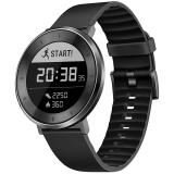 荣耀手表S1深空灰 黑色短腕带(时尚智能穿戴手表手环 运动心率监测 50米游泳防水 跑步指导 睡眠监测)