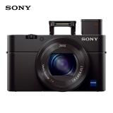 索尼(SONY) DSC-RX100 M3 黑卡数码相机 2010万有效像素 等效24-70mm F1.8-2.8蔡司镜头(WIFI/NFC)