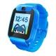 搜狗糖猫(teemo)儿童智能电话手表 color GPS定位 防丢防水 彩屏摄像 视频 动感蓝