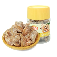 佳宝 广东特产蜜饯果干桃肉干 80后怀旧小吃零食 盐津桃肉180G
