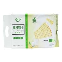 阿尔发 无糖食品 苏打饼干 原味 无蔗糖休闲零食代餐458g/袋