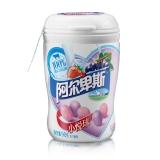 阿尔卑斯(ALPENLIEBE)小悦球葡萄酸奶/草莓酸奶味软糖90克*1瓶 年货送礼新年糖果礼品