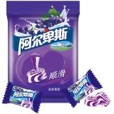 阿尔卑斯晶莹葡萄牛奶硬糖150g牛奶糖 休闲零食(新老包装交替发货)