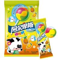 阿尔卑斯热带水果味硬糖棒棒糖(20支装)200克水果糖 儿童用糖休闲零食