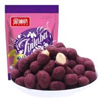 金喇叭 休闲零食 紫薯花生210g