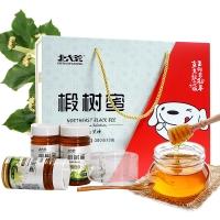 【京东JOY联名款】北大荒 东北黑蜂 椴树蜜礼盒 纯蜂蜜1140g(新老包装随机发货)