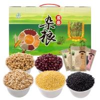 禾煜 五谷杂粮礼盒(燕麦 黑米 黄豆 黄米 赤豆 米仁 黑豆 糙米)3100g