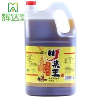 川菜王 非转基因 压榨纯香菜籽油4L