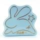 大白兔 agnes b.粉蓝版珍藏礼盒 原味奶糖 128克