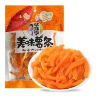 华味亨 蜜饯果干 红薯干地瓜山芋条 美味薯条150g/袋