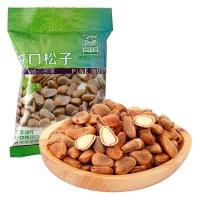 阿甘正馔 休闲零食 坚果东北特产炒货干果 开口松子35g/袋