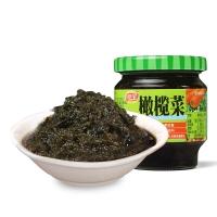 佳宝 橄榄菜 下饭菜咸菜泡菜 潮汕特产开味酱菜腌菜 橄榄菜170G