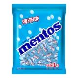 曼妥思薄荷味硬糖(约250颗)单粒散糖袋装1kg薄荷糖 婚庆喜糖休闲零食企业用糖