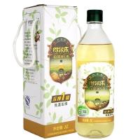得尔乐山茶油 有机野生油茶籽油 冷榨一级食用油1L