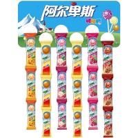 阿尔卑斯 ALPENLIEBE 80支装混棒合口味挂板棒糖(10克*80) 牛奶糖