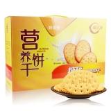 阿尔发  糖醇营养饼干 早餐饼干 奶香味 独立包装800g /盒