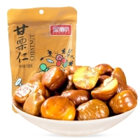 金喇叭 坚果炒货 休闲零食 办公室小吃栗子 板栗仁100g