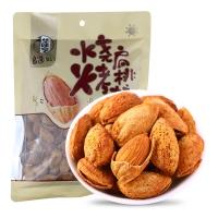 华味亨 烧烤味扁桃核228g/袋 休闲食品 坚果 每日坚果
