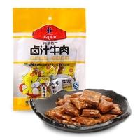 内蒙古特产 草原今朝 休闲零食 卤汁牛肉 香辣味 128g