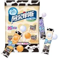 阿尔卑斯精选特浓8.8牛奶硬糖棒棒糖乳酸牛奶味(20支装)120g牛奶糖 休闲零食儿童用糖