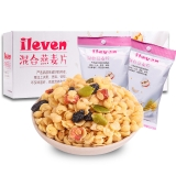 ileven 早餐冲饮即食 混合水果谷物 混合燕麦片625g