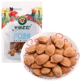 果园老农 杏仁 坚果炒货 零食坚果 开口杏核180g