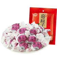 佳宝 广东特产蜜饯果干 纸包加应子320g/袋 80后怀旧零食小吃