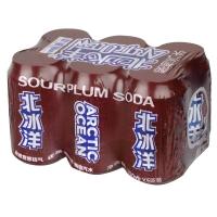 北冰洋 酸梅汁汽水 330mlx6聽 箱裝