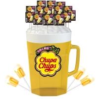 珍宝珠 干杯乐棒棒糖48支啤酒桶装720克牛奶糖 休闲零食 年货送礼新年新春糖果礼品