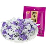 佳宝 广东特产蜜饯果干 纸包陈皮梅320g/袋 80后怀旧零食小吃