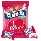 阿尔卑斯田园草莓牛奶硬糖150克牛奶糖 休闲零食(新老包装交替发货)